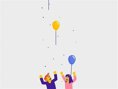 Celebration Dribbble Animation Mario Happy Jacome Hello