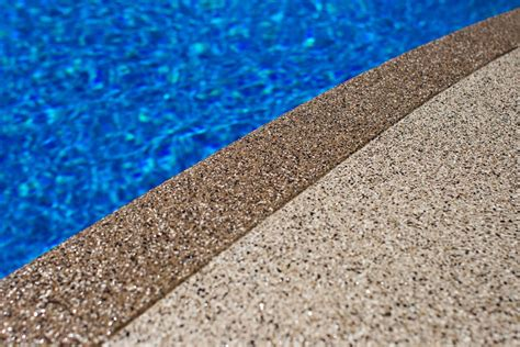 pool deck resurfacing options pool deck resurfacing who says you need new concrete