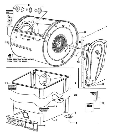 fisher paykel model dg62t27gw1 96142a residential dryer
