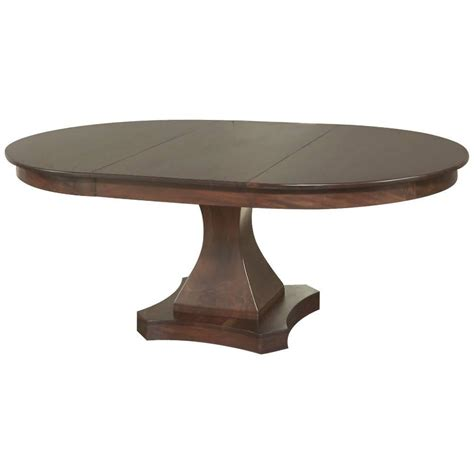 pedestal table with leaf 19th century mahogany louis philipe pedestal dining