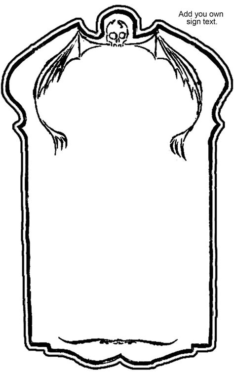 Tombstone Templates For by 17 Best Images About Graveyard Tombstones On