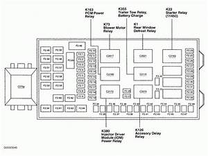 2003 F250 Super Duty Fuse Box Diagram