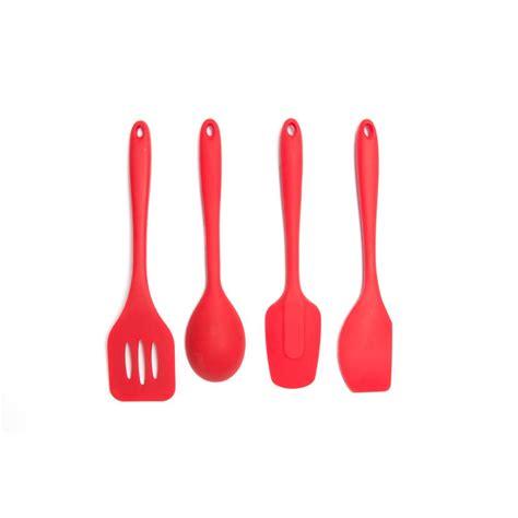 Kitchen Essentials Utensils by Kitchen Essential Silicone Utensils Set Of 4
