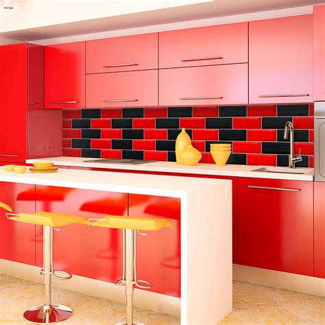 black kitchen wall tiles white and black kitchen tiles tile design ideas 4726