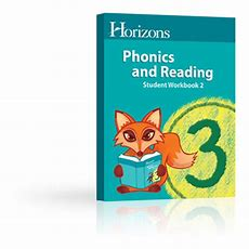 Horizons 3rd Grade Phonics & Reading Student Book 2  Aop Homeschooling