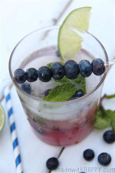 blueberry mojito recipe blueberry mojito blueberry