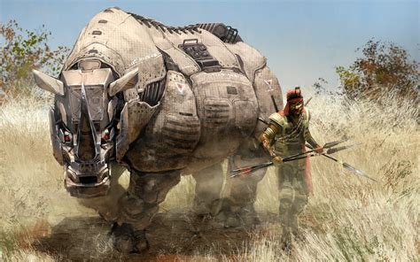 Wallpaper Hd Animals Wallpaper Pack - wallpaper animals robot sculpture rhino