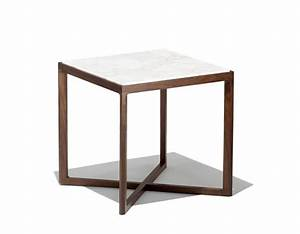 Krusin square end table hivemoderncom for Square end table