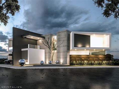 villa facade design m m house architecture modern facade contemporary house design kristalika arquitecture