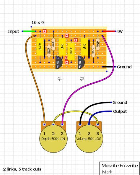 guitar fx layouts a few veros