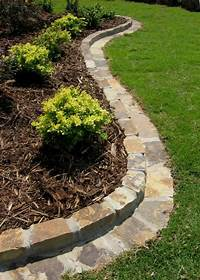 flower bed edging >>>Bermuda lawn growing into your flower beds? REMOVAL TIPS: -Chemical: Spray RoundUp and use a ...