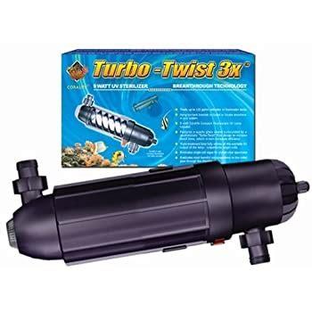 Amazon.com: Coralife 77070 3X Turbo Twist UV Sterilizer