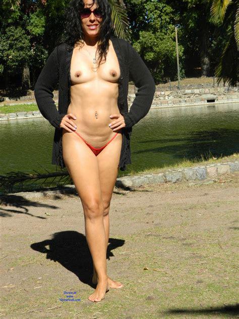 Nude In A Public City Park January Voyeur Web