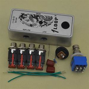 2019 Diy True Bypass Looper Effect Pedal Guitar Effect