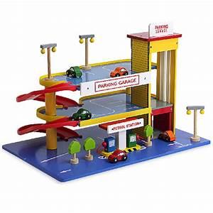 Parkhaus Garage Rampe Mit Zubehör Autos Hochwertiges Holz Ab 3 Jahre Auswahl Neu Spielzeug