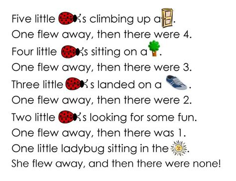 ladybug worksheet for grade activity sheet 348 | af83397e8091ee6ae65aaafc38349046 preschool poems ladybug crafts