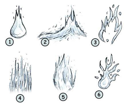 draw cartoon fire