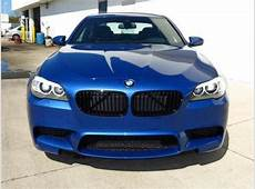 Export New 2013 BMW M5 BASE BLUE ON BLACK