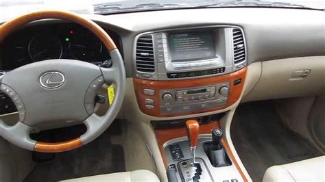 lexus lx interior image gallery lexus lx 470 interior