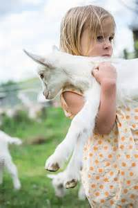 Girl and Goat Farm
