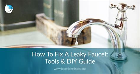 fix  leaky faucet tools diy guide