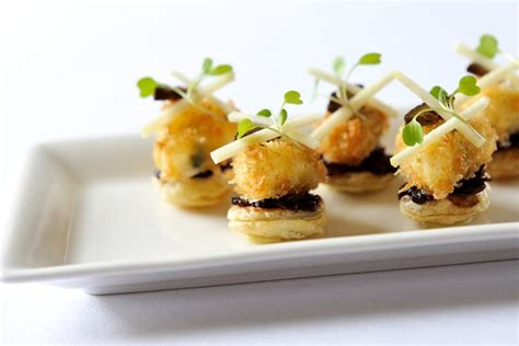 canape filling ideas tart canapé recipe great chefs