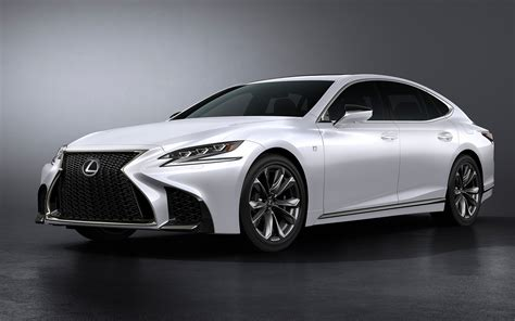 2018 Lexus Ls 500 F Sport Wallpapers Hd Wallpapers Id