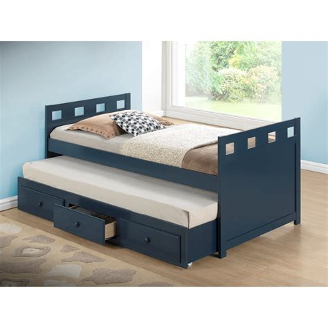 trundle bed with broyhill kids breckenridge twin captain bed with trundle