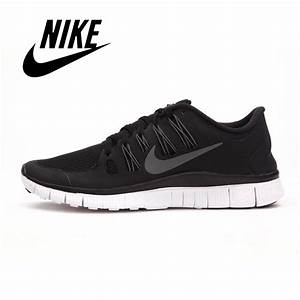 new 2015 mens all black nike free 5.0 running shoes