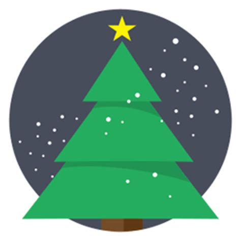christmas tree at the christmas tree sticker for id 7023 stickees 6898