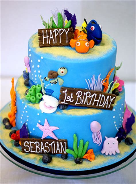 Finding Nemo Cake  Angie Boyd Flickr