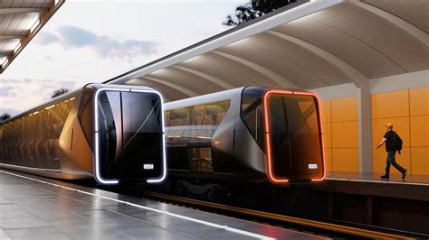 Desainer Rusia Bayangkan Konsep Metro Futuristis Rusia ...