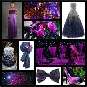 plum wedding galaxy themed wedding inspiration polyvore