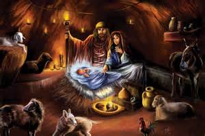Merry Christmas Jesus Born in a Manger