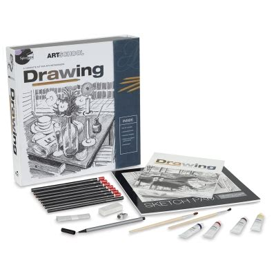 spicebox art school drawing kit blick art materials