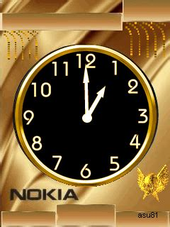 Digital Clock Clock Live Wallpaper Mobile9 by Neon Nokia Clock Mobile Screensavers 2697832