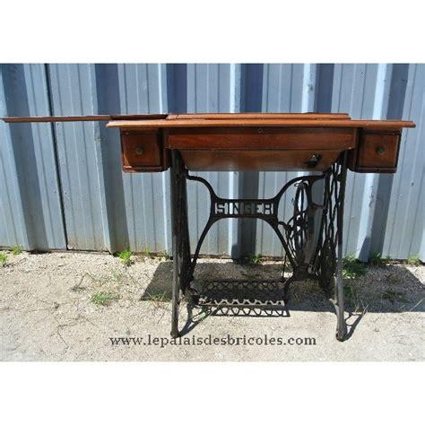 ancienne table de machine 224 coudre singer pour bureau le palais des bricoles