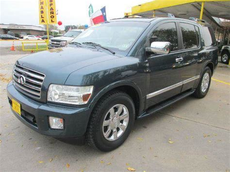 infiniti jeep 2005 2005 infiniti qx56 base rwd 4dr suv in houston alief