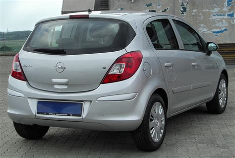 opel corsa   technical specifications interior