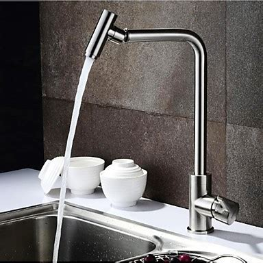 304 Stainless Steel Leadfree Kitchen Faucet Mixer