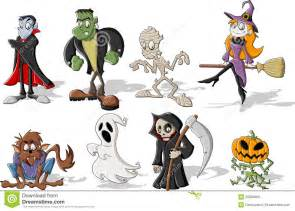Classic Halloween Monster List by Halloween Monsters Stock Photo Image 26804660