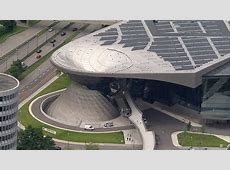 BMW World Olympic Park Munich Germany HD Stock