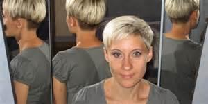 coupe de cheveux mi femme sandrine entre pixie et coupe au bol carré