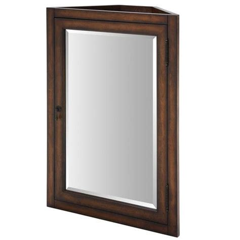 Wayfair Bathroom Mirror Cabinet by Found It At Wayfair Malago 24 Quot Corner Mirrored Medicine