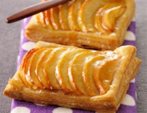 recette a base de pommes dessert d 233 licieux croissant aux pommes befruits