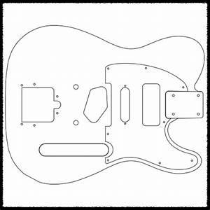 telecaster guitar routing templates faction guitars With stratocaster routing template
