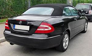 Mercedes Clk Cabriolet : file mercedes clk cabriolet a209 20090712 rear jpg ~ Medecine-chirurgie-esthetiques.com Avis de Voitures