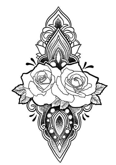Mandala tattoo..... | Mandala tattoo, Coloring books, Mandala