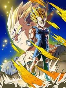 beyond the ferocious flash majin vegeta dragon ball z