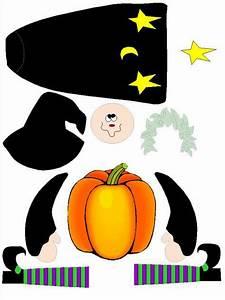 Bricolage Halloween Adulte : d coupage et collage pour halloween une sorci re en tableau ou en pantin f te d 39 halloween ~ Melissatoandfro.com Idées de Décoration